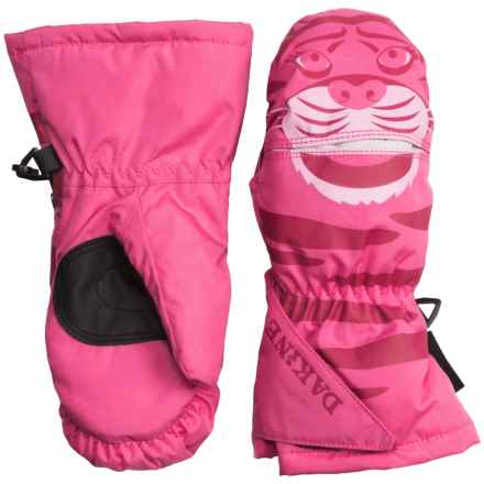 DaKine Scrambler Mittens - Waterproof, Insulated (For Toddlers) in Tiger - Closeouts