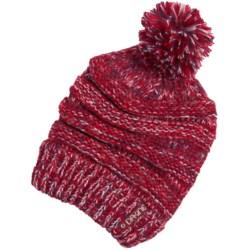 DaKine Scruntch Beanie Hat (For Women) in Crimson Mix