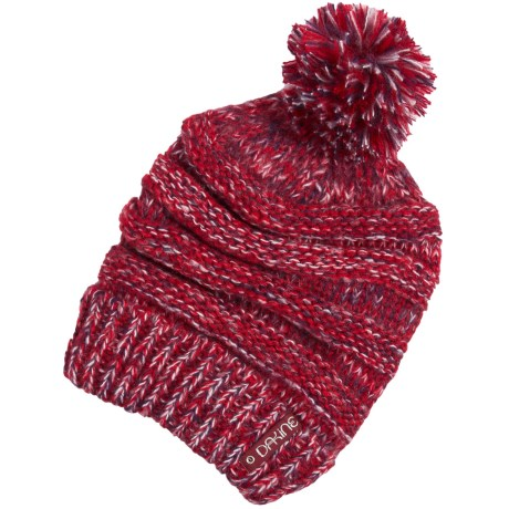 DaKine Scruntch Beanie Hat (For Women) in Crimson Mix