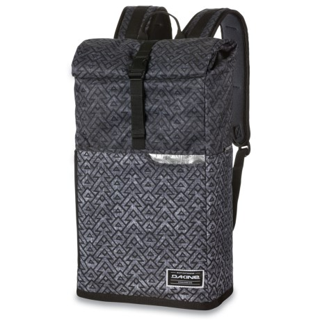DaKine Section Roll Top Wet/Dry 28L Backpack in Stacked