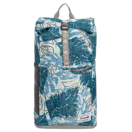 DaKine Section Roll Top Wet/Dry 28L Backpack in Washed Palm - Closeouts