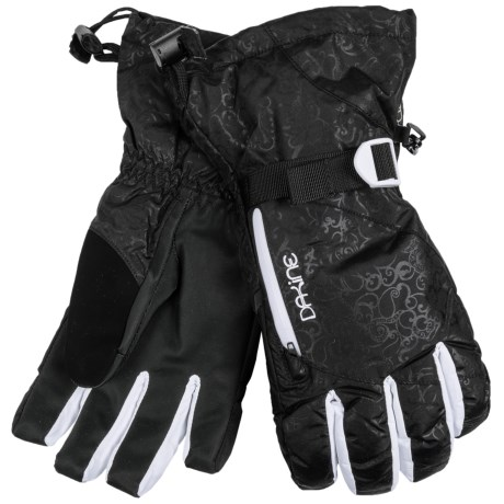DaKine Sequoia Gore-Tex® 3-in-1 Gloves - Waterproof, Insulated (For Women) in Obsidian