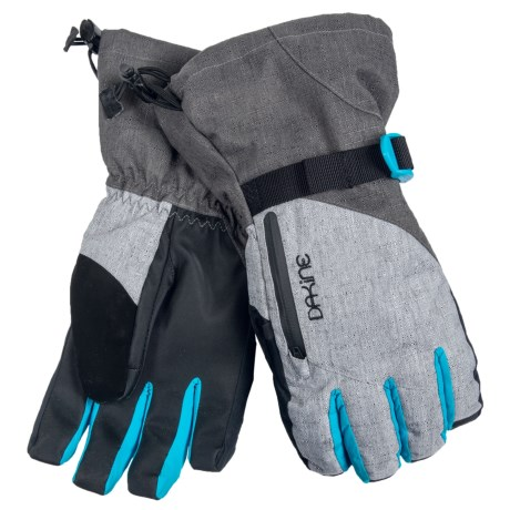 DaKine Sequoia Gore-Tex® 3-in-1 Gloves - Waterproof, Insulated (For Women) in Silver Chambray