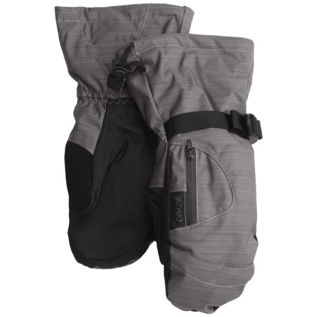 DaKine Sequoia Gore-Tex® Mittens - Waterproof, Insulated, 3-in-1 (For Women) in Silver Chambray