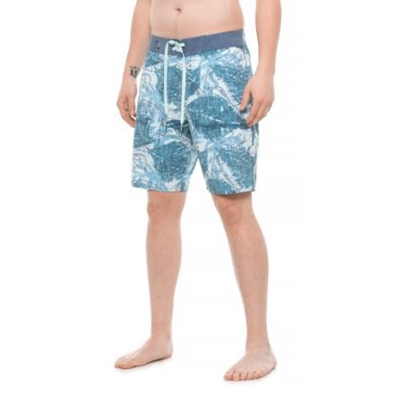 "b03a23872d DaKine Sky Blue Washed Palm Kailua Boardshorts - 20"" (For Men) in Sky"