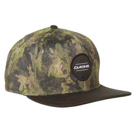 DaKine Snap Back Hat (For Men) in Carson/Peat Camo - Closeouts
