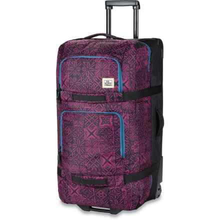 DaKine Split Roller 110L Suitcase (For Women) in Kapa - Closeouts