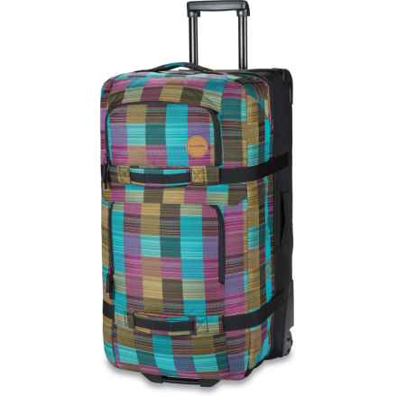 DaKine Split Roller 110L Suitcase (For Women) in Libby - Closeouts