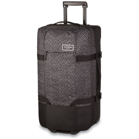 DaKine Split Roller EQ 100L Rolling Suitcase in Stacked