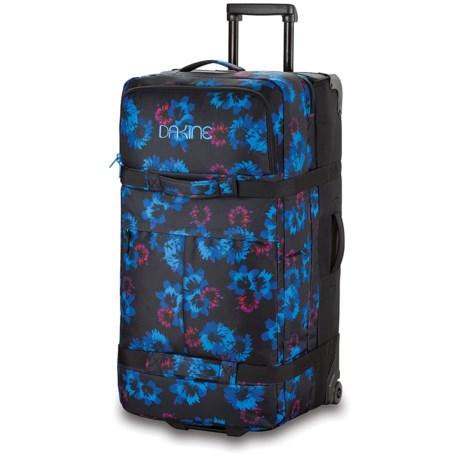 DaKine Split Rolling Suitcase - Small in Bluflowers