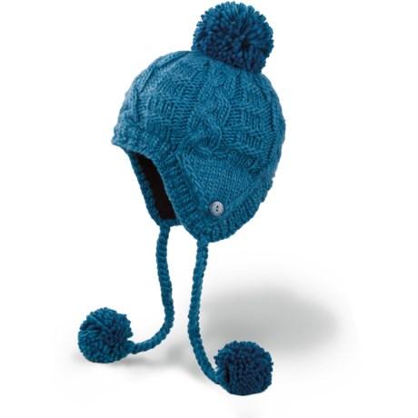 DaKine Stella Hat - Fleece Lining, Ear Flaps (For Women) in Moroccan Blue