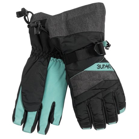 DaKine Tahoe Gloves - Waterproof, Insulated (For Women) in Denim
