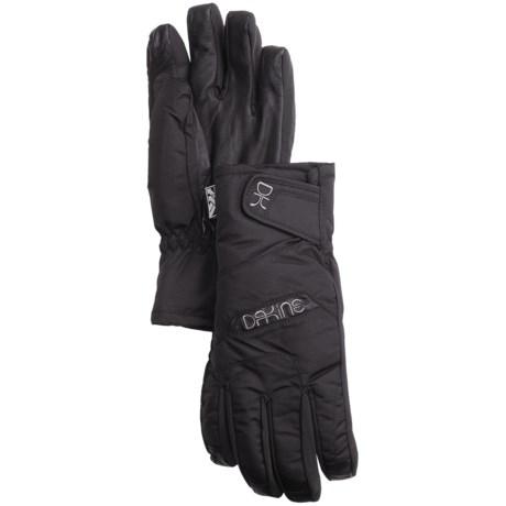 DaKine Tahoe Short Gloves - Waterproof, Insulated (For Women) in Black