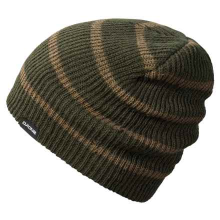 DaKine Tall Boy Striped Beanie (For Men) in Jungle/Capers - Closeouts