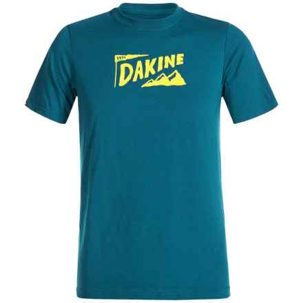 DaKine Tech T-Shirt - Short Sleeve (For Kids) in Moroccan/Scout/Camp - Closeouts