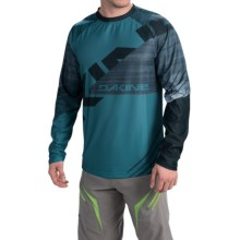 DaKine Thrillium Mountain Bike Jersey - Long Sleeve (For Men) in Moroccan - Closeouts