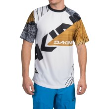 DaKine Thrillium Shirt - Short Sleeve (For Men) in White - Closeouts