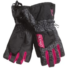DaKine Tracker Jr. Gloves - Waterproof, Insulated (For Kids) in Animals - Closeouts