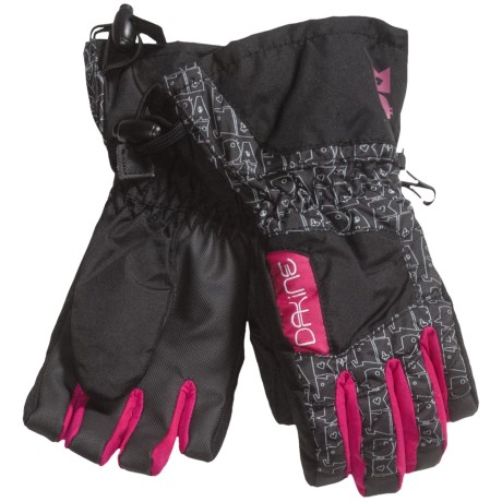 DaKine Tracker Jr. Gloves - Waterproof, Insulated (For Kids) in Animals