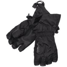 DaKine Tracker Jr. Gloves - Waterproof, Insulated (For Kids) in Black - Closeouts
