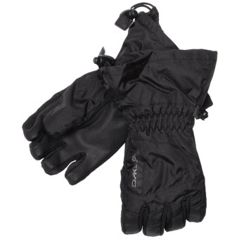 DaKine Tracker Jr. Gloves - Waterproof, Insulated (For Kids) in Black