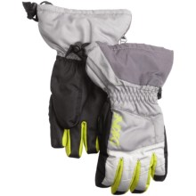 DaKine Tracker Jr. Gloves - Waterproof, Insulated (For Kids) in Grey - Closeouts