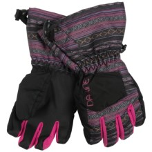 DaKine Tracker Jr. Gloves - Waterproof, Insulated (For Kids) in Vera - Closeouts