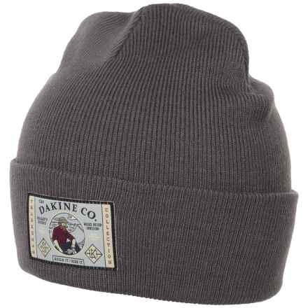 DaKine Tradesman Beanie (For Men and Women) in Charcoal - Closeouts