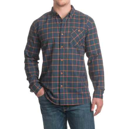 DaKine Valencia Shirt - Long Sleeve (For Men) in Dress Blues - Closeouts