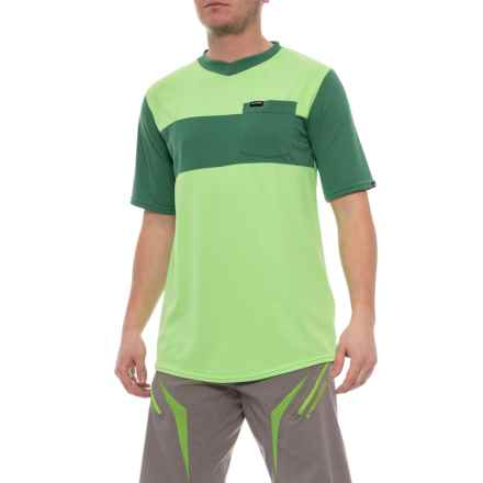 DaKine Vectra Cycling Jersey - Short Sleeve (For Men) in Smrgrn/Fir - Closeouts