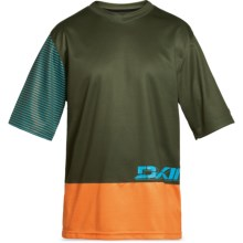 DaKine Vectra Jersey - Short Sleeve (For Men) in Olive - Closeouts