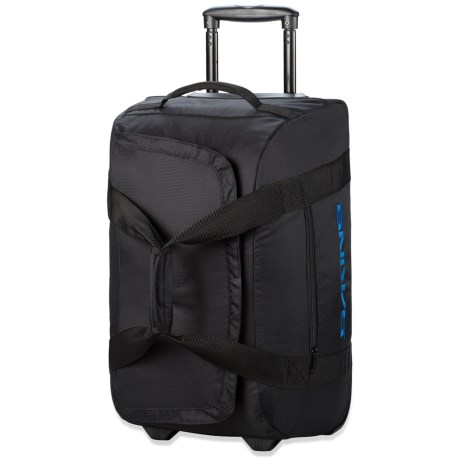 DaKine Venture Rolling Duffel Bag - 60L in Black