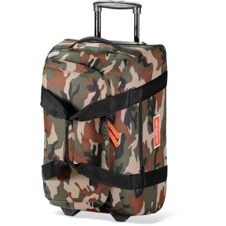 DaKine Venture Rolling Duffel Bag - 60L in Camo