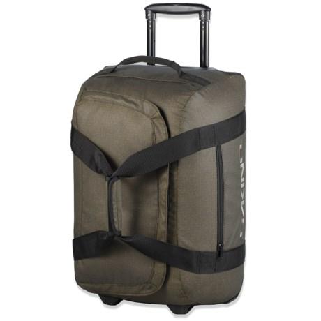 DaKine Venture Rolling Duffel Bag - 60L in Pyrite