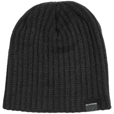 DaKine Vert Rib Beanie Hat (For Men) in Black
