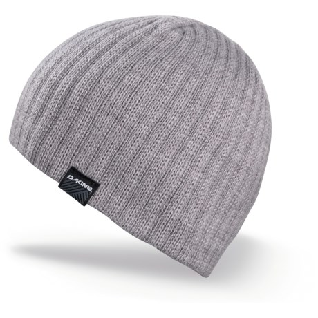 DaKine Vert Rib Beanie Hat (For Men) in Grey