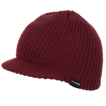 bbbb00730a7 DaKine Waffle-Knit Visor Beanie (For Men and Women) in Rosewood - Closeouts
