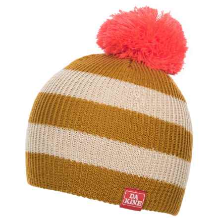 DaKine Wendy Beanie (For Little and Big Girls) in Lil Buck/Turtledove - Closeouts