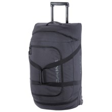 DaKine Wheeled Duffel Bag - Large in Black Stripes - Closeouts