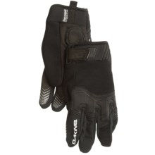 DaKine White Knuckle Cycling Gloves - Insulated (For Men) in Black - Closeouts