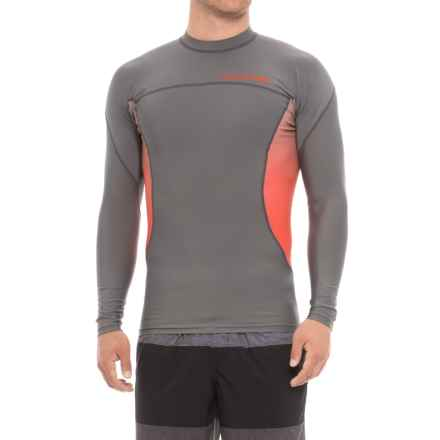 DaKine Wrath Rash Guard - UPF 50, Snug Fit, Long Sleeve (For Men) in Gunmetal - Closeouts