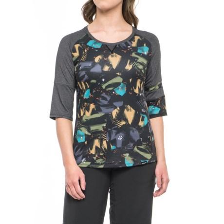 DaKine Xena Jersey - 3/4 Sleeve (For Women) in Baxton