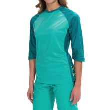 DaKine Xena Jersey - 3/4 Sleeve (For Women) in Harbor - Closeouts