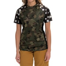DaKine Xena Shirt - Short Sleeve (For Women) in Camo - Closeouts