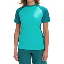 DaKine Xena Shirt - Short Sleeve (For Women) in Harbor - Closeouts