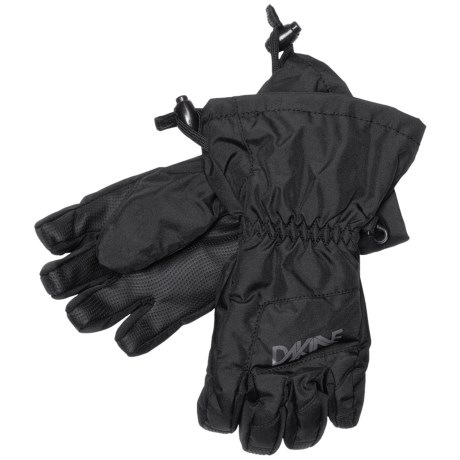 DaKine Yukon Jr. Gloves - Waterproof, Insulated (For Kids) in Black