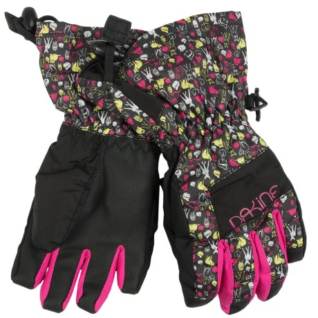 DaKine Yukon Jr. Gloves - Waterproof, Insulated (For Kids) in Nightfall