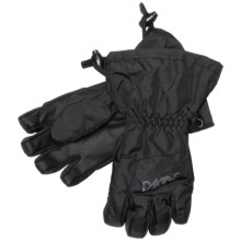 DaKine Yukon Jr. Gloves - Waterproof, Insulated (For Little and Big Kids) in Black - Closeouts