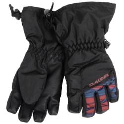 DaKine Yukon Jr. Gloves - Waterproof, Insulated (For Little and Big Kids) in Mantle