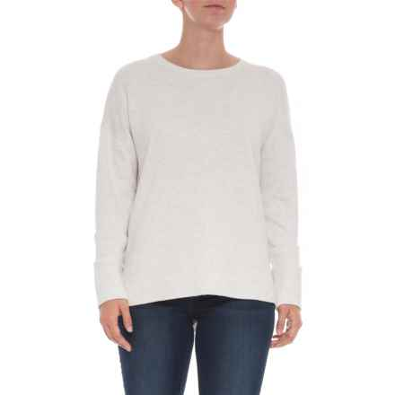 Dakini High-Low Sweater (For Women) in Silver Heather - Closeouts